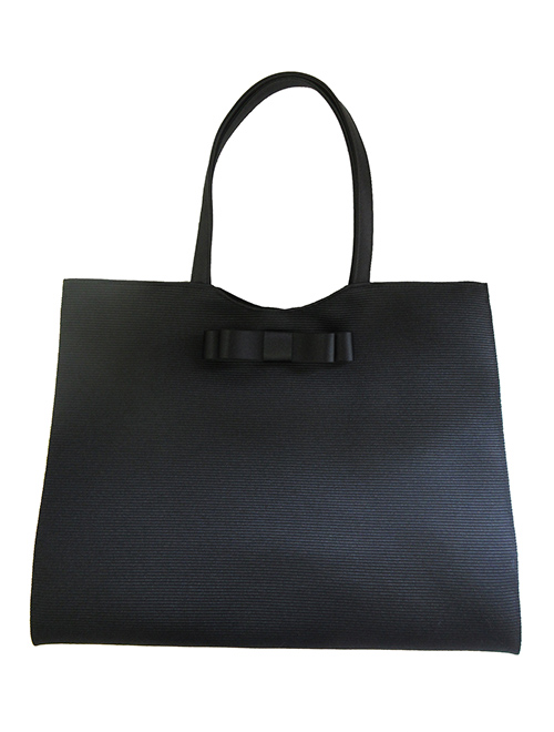 YUKI TORII/ユキトリヰ グログラン素材 フォーマルトートバッグ
