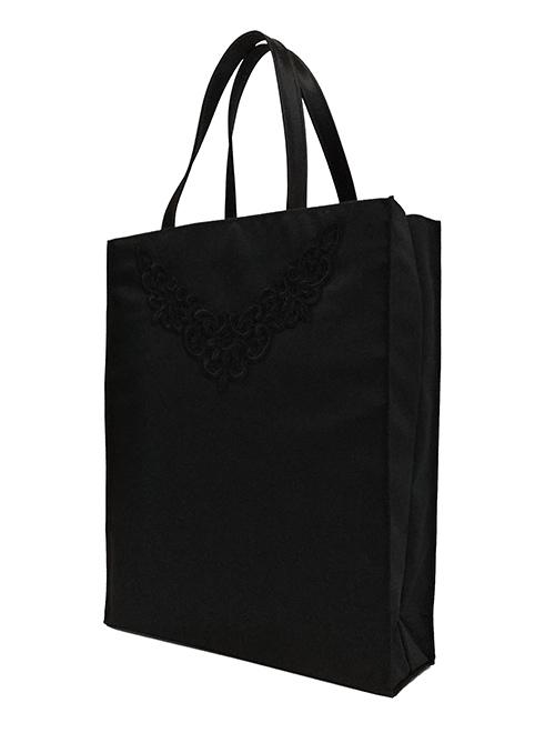 YUKI TORII/ユキトリヰ 飾りリボンのフォーマルトートバッグ